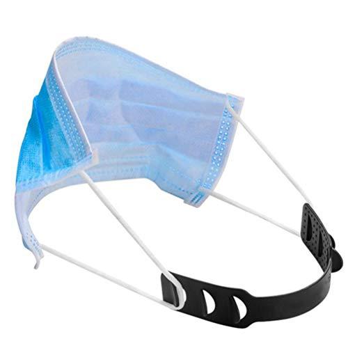 EXCEART 6-Teiliger Maskenhaken Verstellbarer Maskenriemen Anti-Straff-Ohrschutz für Gehörschutz