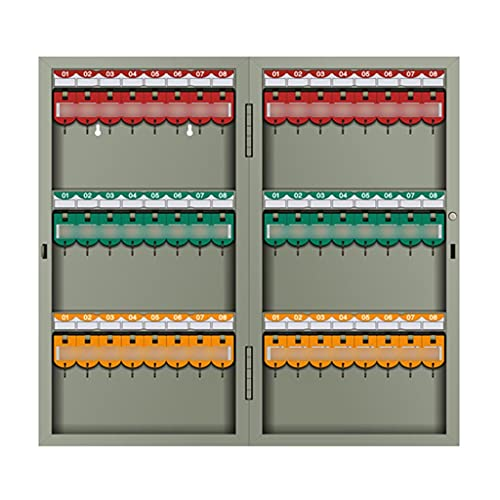 Armarios para Llaves Caja De Llaves Caja De Administración Agencia Inmobiliaria Montada En La Pared Armario De Llaves Caja De Almacenamiento De Llaves (Color : Gray, Size : 48 Holes)