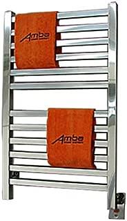 Amba Q 2033 B Quadro 20-1/2-Inch x 33-Inch Towel Warmer, Brushed