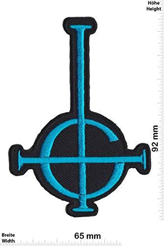 Ghost Blue Heavy Metal Band Patch Badge Applique Geborduurd IJzer op
