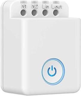 DECDEAL 1 PCS MCB1 DIY Wifi Switch Wireless Smart Home Automation Módulo controlador compatível com Alexa e Google Assista...