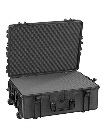 Max MAX620H340STR IP67 resistente al agua nominal de tapas rígidas para fotografía equipo estanca resistente de transporte tirador plástico funda Transit/espuma de poliuretano de/caja de transporte para iMac caja de herramientas