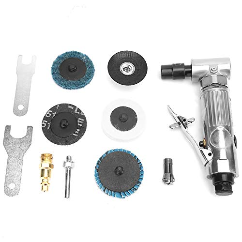 Amoladora de aire, amoladora de herramientas de aire, amoladora de ángulo neumática, herramientas operadas por aire, construcción de rodamientos de bolas, herramienta eléctrica ligera