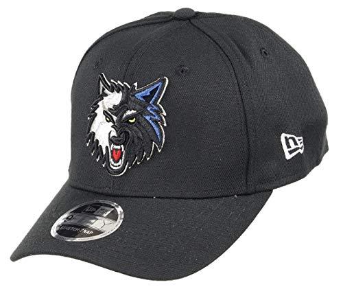New Era Minnesota Timberwolves 9fifty Stretch Snapback Cap NBA Essential Black - One-Size