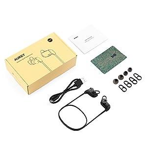 Diseño AntiSudor: Bluetooth 4. 1que permite alcanzar una distancia de 10 metros, se puede conectar rápidamente al dispositivo, soporta la función de dos dispositivos conectados al mismo tiempo Alta Calidad de Sonido. El tono bajo equilibrado y profun...