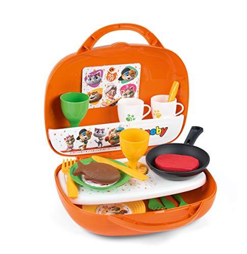 Smoby 44 Gatos Mini Cocina en maletín + 3 años 7600310608