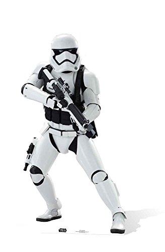 empireposter Star Wars EP7 Stormtrooper Krieg der Sterne Episode VII - Das Erwachen der Macht Pappaufsteller Pappfigur Standy ca. 172 cm