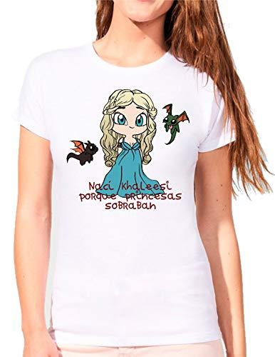The Fan Tee Camiseta de Mujer Juego de Tronos Tyrion Snow Dragon Daenerys Stark 066 S