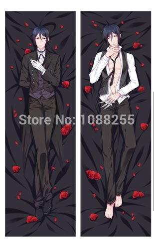 Personalized pillowcase Black Butler Sebastian...
