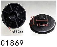 フロント マート リテーナ VW系 8E08642299B9 ナイロン 10個