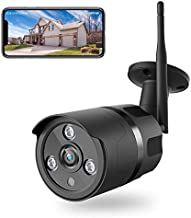 Wireless Security Camera, 1080P WiFi Camera with Night Vision, IP66 Waterproof, AI Motion Detection, Instant Alert, Zoom Function, 2-Way Audio, Cloud Storage/SD Slot, Privacy Protect, Indoor/Outdoor