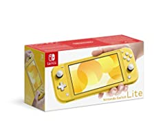 NOTE: This is the U.K. version that is compatible with U.S. games, but will need a power adapter (sold separately). Optimized for personal, handheld play; Nintendo Switch Lite is a small and light Nintendo Switch system. Features a sleek, unibody des...