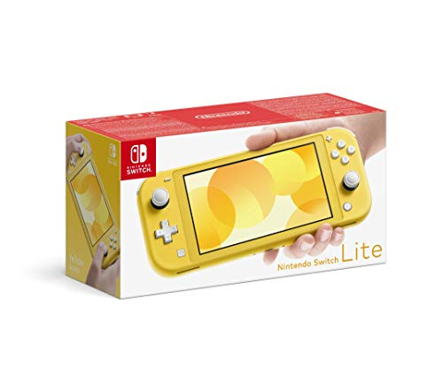 Nintendo Switch Lite - Consola color Amarillo, Edición  Estandar