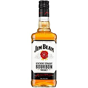 Jim Beam White Label Kentucky Straight Bourbon Whiskey, 700 ml