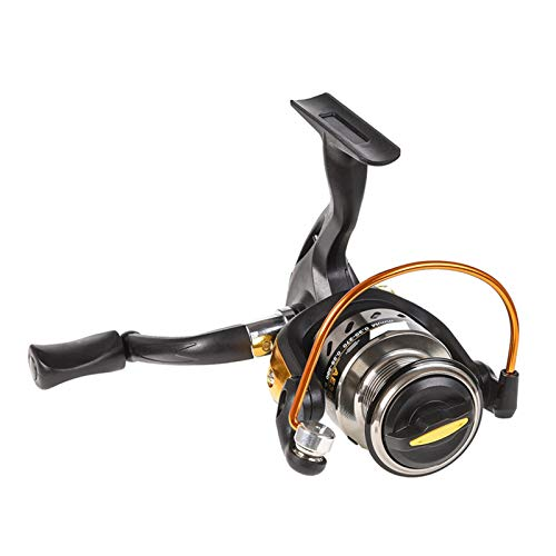 ZZQQ carretes de Pesca Spinning Pesca Reel Serie 3000 Esta Ronda 5.5: 1 Metal Herramienta de Pesca de rotación de Metal Izquierdo y Derecho bobinas