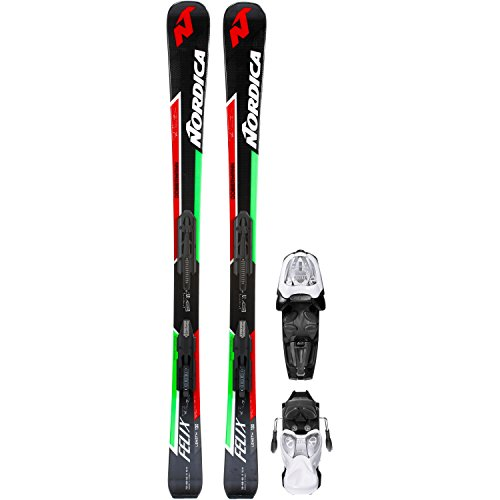 Nordica Kinder All-Mountain Ski schwarz 150