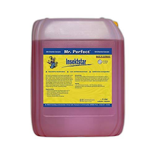 Mr. Perfect® Insektstar, 5 Liter - Insektenentferner für KFZ, Insektenreiniger für alle Lacke