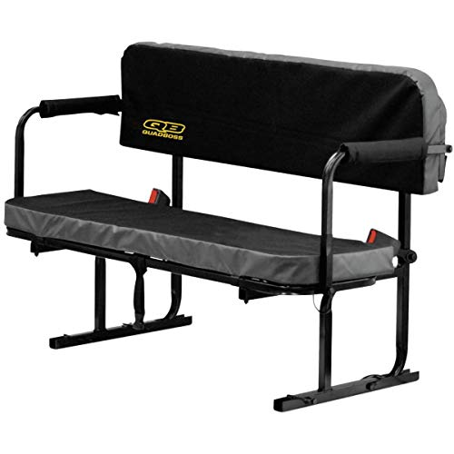 Quadboss UTV Jump Seat (Black)