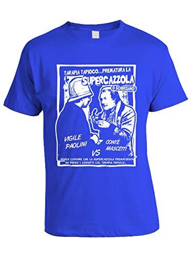 bubbleshirt Tshirt Film Cult Anni '70-80' Amici Miei - Supercazzola- Vigile Paolini vs Conte Mascetti