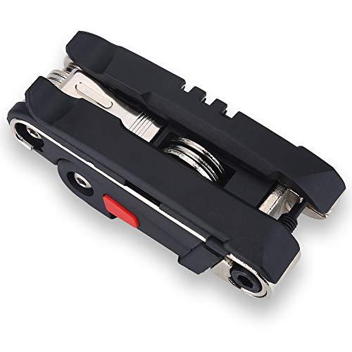 VGEBY Kit de Herramientas de reparación de Bicicletas, Herramienta de reparación de Bicicletas 16 en 1 Herramienta de reparación de Bicicletas multifunción