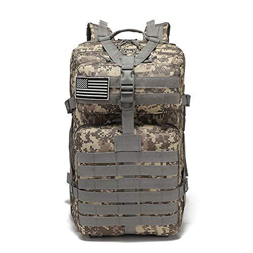 HWZZ 40L Outdoor Klettertasche Camouflage Net Bag Reitrucksack Geeignet Für Wanderausrüstung Camping Rucksack,D