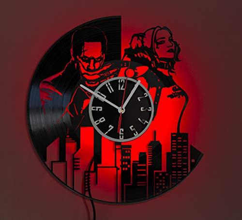 41HUHW18lzL Harley Quinn Clocks