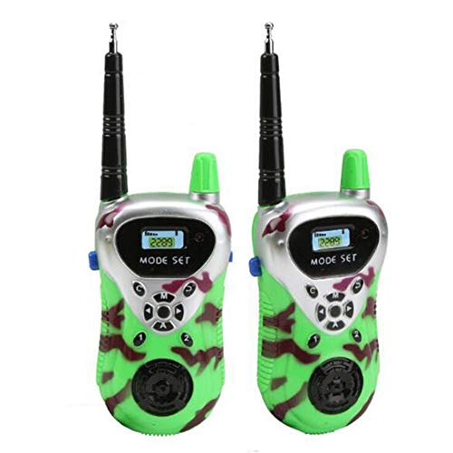 Walkie Talkies Para Niños-Juguetes Para Niños Walkie Talkie Niños Padres Interactivo Juegos Al Aire Libre Interphone Gifts Juguetes 3 Colores Avaliable Fun Toy 2 Pack,Camouflage