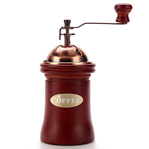 3E Home Manual Canister Ceramic Burr Coffee Mill Grinder