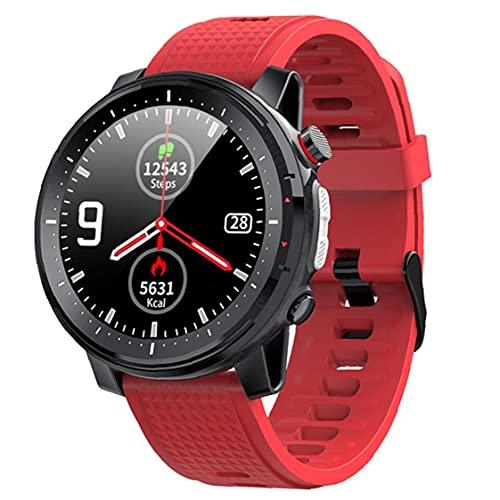 Tuimiyisou Pantalla táctil del Reloj de Las Mujeres rastreador de Ejercicios de Red Inteligente Reloj Bluetooth Pulsera de los Deportes de los Hombres IP68 a Prueba de Agua y de Las