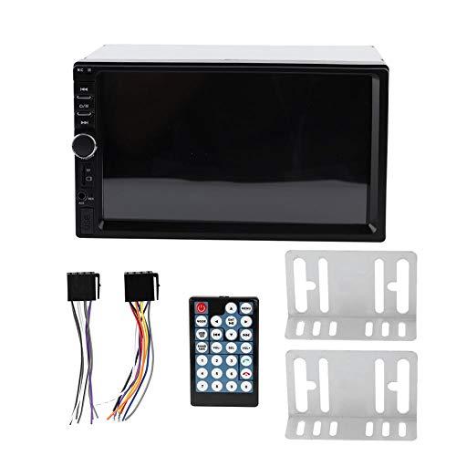 KUIDAMOS Reproductor de Audio para automóvil, Reproductor de automóvil HD con Llamada sin Manos 1080P para Taxi para automóvil