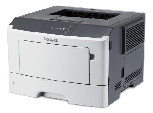 Lexmark MS310D Schwarzweißlaserdrucker (1200 dpi, USB 2.0) graphit/weiß