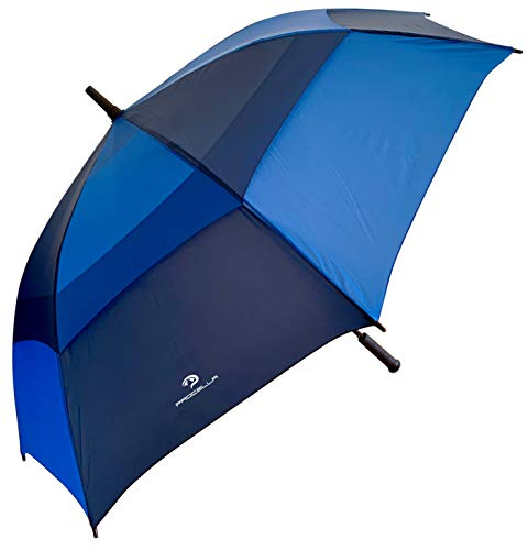 PROCELLA Large Golf Umbrella – AWARD WINNING, Windproof, Waterproof - Superior Heavy Duty Automatic Umbrella Defies High Wind, Sun & Rain – Perfect Cart Holder Fit – Matching Carrying Case Sleeve