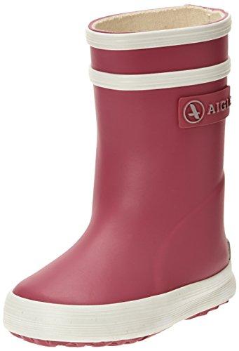 Aigle Unisex-Kinder Baby Flac Gummistiefel, Pink (Rose New), 23 EU