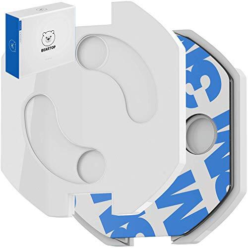 Premium Steckdosen-Kindersicherung zum Kleben von BEARTOP | neuer Mechanismus | 10, 20 oder 50er | Babysicherung Steckdosenschutz | für alle gängigen Steckdosen | ZUFRIEDENHEITSGARANTIE (3 Jahre)*
