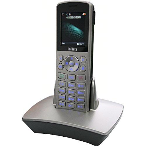 UniData WPU-7800 - Teléfono inalámbrico VoIP (Wifi)