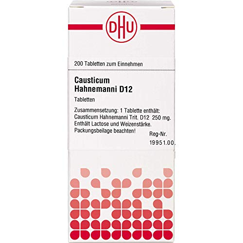 DHU Causticum Hahnemanni D12 Tabletten, 200 St. Tabletten
