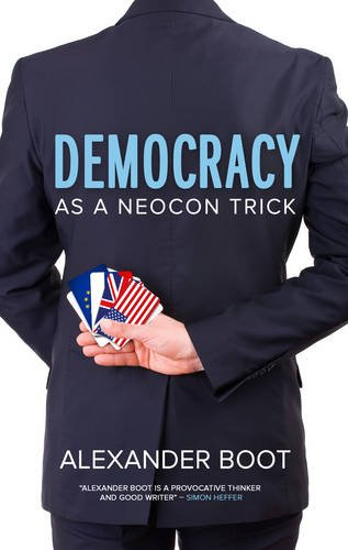 Image of Democracy as a Neocon Trick