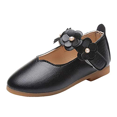 DADAWEN Mary Jane Shoes Girls Closed Ballet Flats Flowers Loafers Slippers...