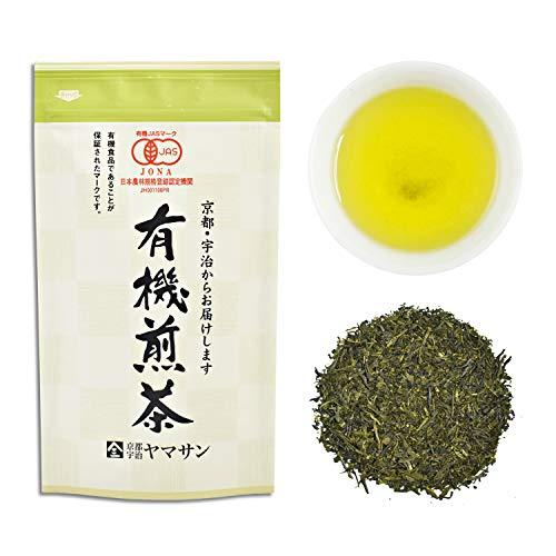 CHAGANJU- Japanese Sencha Loose Leaf Green Tea, JAS Certified Organic, Uji-Kyoto, 80g Bag