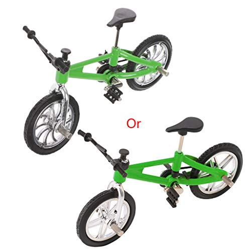 holilest Juguetes Modelo, Modelo de Bicicleta de aleación de Dedo Mini MTB BMX Fixie Bike niños Juguete Juego Creativo Regalo-3
