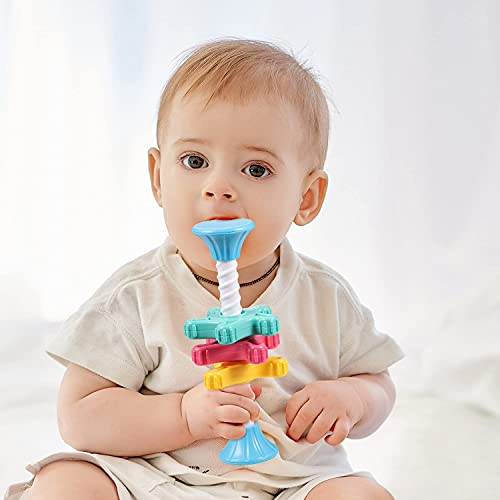 ALASOU Mini Spinning Toy for Baby – Educational Toys for Baby Boy and Girls 9 Month Old Baby Toys   Baby Toys 12-18 Months Toys for 1 Year Old boy