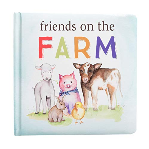 Kate & Milo Friends on The Farm Board Book for Babies  Fun with Farm Animals  Toddler or Baby Learning Book