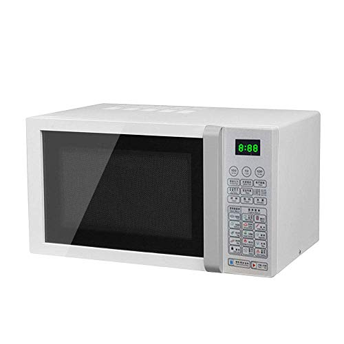 KAUTO Microwave Oven 23L Lager Capacity Digital Display 800W, 14 Preset Recipes, Procedural Memory, Auto Defrost, Solo Microwave Oven for Standard Size of Dinner Plate with Baking Tray