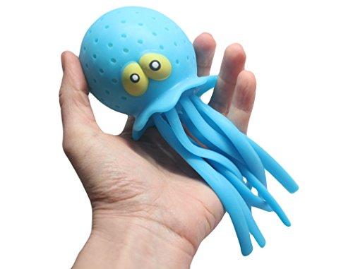 Large Jellyfish/Octopus Pool & Bath Toy - Water Bomb Splash Toys Cute (Random Color)