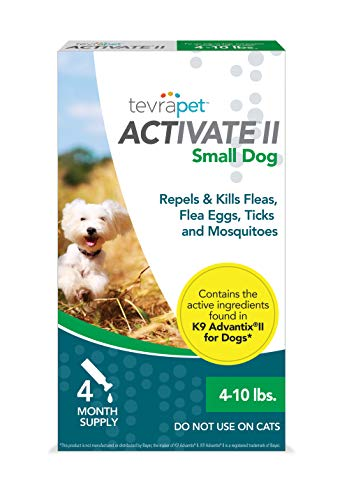 TevraPet Activate II Flea and Tick Prevention for...