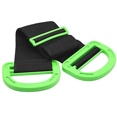 Adjustable Lifting Moving Straps, Durable Handle Moving Belt for single or...