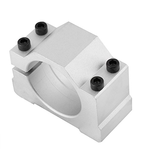 52/65mm Cast Aluminium Spindle Motor Mount Bracket Clamp for CNC Engraving Machine and 3D Printing(65MM)