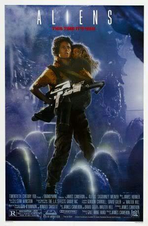Aliens - Sigourney Weaver – Film Poster Plakat Drucken Bild – 43.2 x 60.7cm Größe Grösse Filmplakat Alien 2