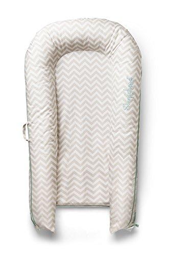 Imagen para Enfant Terrible Diseño a partir de 150037354sleepyhead Grand Pod Silver Lining–Baby Cama/cama de viaje, Chevron, multicolor