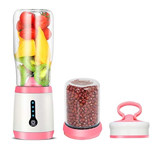 Best Bargain Multifunction 2-in-1 Electric Juice Maker Mini Portable Cup Juicer Blender Grinding Mac...